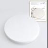 Спонж для макияжа Мираж Большой круглый Белый 1/1 130707