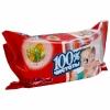100% Чистоты Влажные салфетки детские Календула*72шт