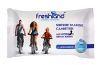 FreshLand  Мягкие влажные салфетки для активного образа жизни с триклозаном  12шт