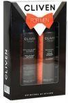 Cliven Подарочный Набор 401 Смокинг Пена для бритья   Дезодорант
