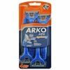 Arko Men Станок для бритья System 3-лезвия, 4шт блистер