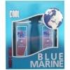 1 Blue Marine COOL гель для душа 250ml пена для бритья 200ml