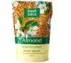 """Fresh Juice Жидкое крем-мыло """"Almond""""-Миндаль с увлажняющим миндальным молочком, 460ml /саше/"""