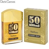 50 Milliоn$ Every Day (50 Миллионс Дей) edt, 90ml мужская туалетная вода Chris Carson