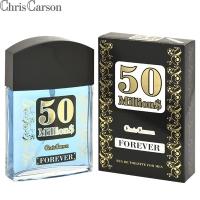 50 Milliоn$ Forever (50 Миллионс Форевер) edt, 90ml мужская туалетная вода Chris Carson