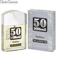 50 Milliоn$ Platinum (50 Миллионс Платинум) edt, 90ml мужская туалетная вода Chris Carson