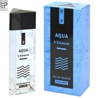 5 Element Aqua 5 Элемент Вода edt, 100ml мужская туалетная вода Evro Parfum