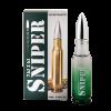 SNIPER 7.62*63 edt, 20ml Ponti parfum, пуля зелёная
