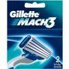 GILLETTE сменные кассеты Mach3 2 шт (ENG)
