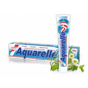 AQUARELLE Зубная паста  Classic 2-х цветная 75мл