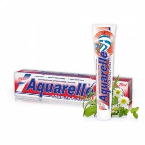 AQUARELLE Зубная паста  Complex 2-х цветная 75мл