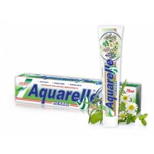AQUARELLE Зубная паста  Herbal 2-х цветная 75мл