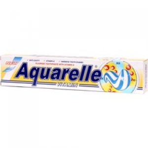 AQUARELLE Зубная паста  VitAmin 2-х цветная 75мл
