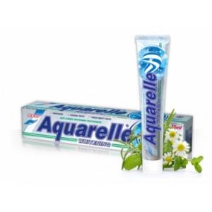 AQUARELLE Зубная паста Whitening 2-х цветная 75мл