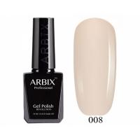 ARBIX Гель-лак №008 Слоновая кость