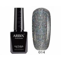 ARBIX Гель-лак №014 Алмазное сияние Блестки голография