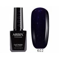 ARBIX Гель-лак №022 Сидней Тёмно-синий с блестками