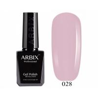 ARBIX Гель-лак №028 Воздушный поцелуй Бледно-розовый