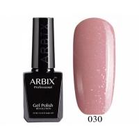 ARBIX Гель-лак №030 Розовый кварц Пудровый с блеском