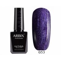 ARBIX Гель-лак №053 Игристый виноград Фиолетовый перл