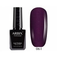 ARBIX Гель-лак №061 Магнетизм Фиолетовый с мелким блеском