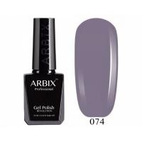 ARBIX Гель-лак №074 Нуар Серый