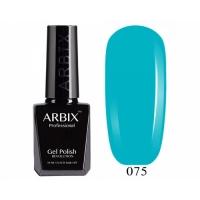 ARBIX Гель-лак №075 Королевская гавань Ярко голубой