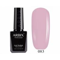 ARBIX Гель-лак №083 Клубничный Чизкейк Розовая пудра