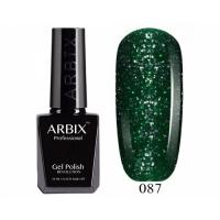 ARBIX Гель-лак №087 Изумрудная крошка