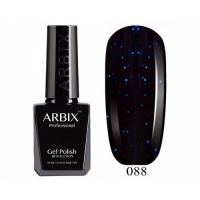 ARBIX Гель-лак №088 Сказочная ночь Темно-синий с блеском