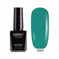 ARBIX Гель-лак №089 Ирландский клевер Темная бирюза
