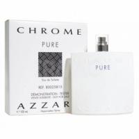 AZZARO CHROME PURE edt, 100ml Tester туалетная вода для мужчин