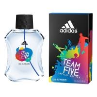Adidas Team Five edt, 100ml мужская туалетная вода