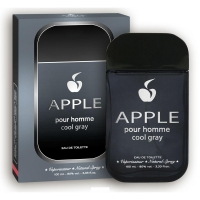 Apple Pour Homme Cool Gray (Аппле Пур Хомме Кул Грей) edt, 100ml мужская туалетная вода Apple parfum, s