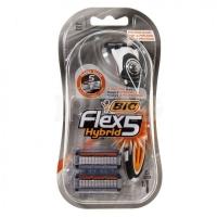 BIC Flex3 Hibrid Станок 2 кассеты