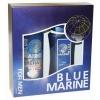 10 BLUE MARINE Набор пена для бритья, 200ml бальзам после бритья, 150ml