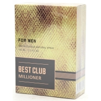 Best Club Millioner (Бест Клаб Миллионер) edt, 100ml мужская туалетная вода Delta parfum,