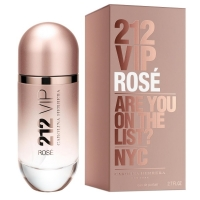 Carolina Herrera 212 VIP Rose edp, 30ml женская парфюмерная вода