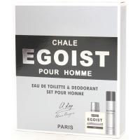 Chale Egoist (Шале Эгоист) Набор edt, 90ml мужская туалетная вода   Дезодорант, 75ml Alain Aregon