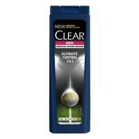 Clear vita ABE Шампунь и бальзам-ополаскиватель для мужчин 2 в 1 Ultimate Control, 200мл