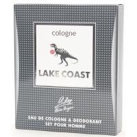 Cologne Lake Coast Лэйк Коаст Набор мужской одеколон, 60мл   део, 75мл Alain Aregon
