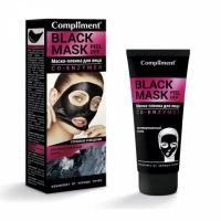Compliment BLACK MASK Маска-пленка для лица Co-Enzymes, 80мл
