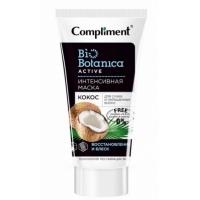 Compliment Bio Botanica Active Маска Кокос для сухих и окрашенных волос, 200мл