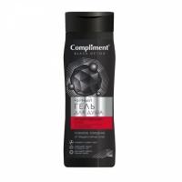 Compliment Black Detox Черный гель для душа Акивированный уголь и Co-Enzymes,  250мл