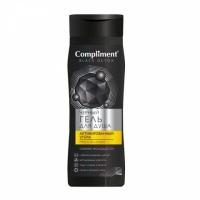Compliment Black Detox Черный гель для душа Акивированный уголь и Pro-Collagen, 250мл