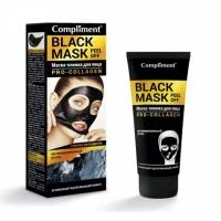 Compliment Black Mask Маска-пленка для лица  Pro-Collagen, 80мл