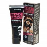 Compliment Black Mask Маска - пленка для лица Коэнзимы, 80мл