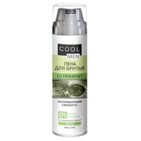 Cool Men Пена для бритьяUltra mint, 250мл/Sk
