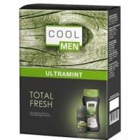 Cool Men Набор подарочный Ultra mint Гель шампунь   дезодорант шарик