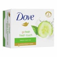 DOVE крем - мыло Прикосновение Свежести Огурец и Зеленый Чай, 135г